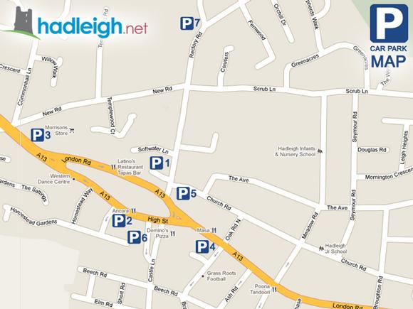 Endway Car Park Hadleigh