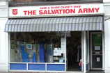 Salvation Army Charity Shop, Hadleigh