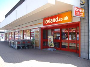 Iceland Frozen Foods Hadleigh Essex