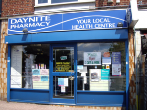 Daynite Pharmacy Hadleigh Essex