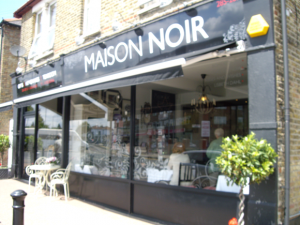 Maison Noir Tea and Coffee Shop Hadleigh Essex