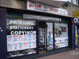 Fenn Press Printing Hadleigh Essex