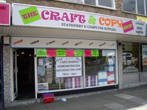 The Craft & Copy Shop Hadleigh Essex