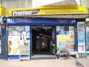 Premier Newsagent Hadleigh Essex