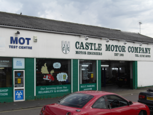 Castle Motor Company in Hadleigh Essex