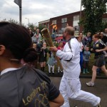 Olympic Torch In Hadleigh 2