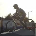 Hadleigh Mountain Bike Statue Minus The Blow-Up Doll